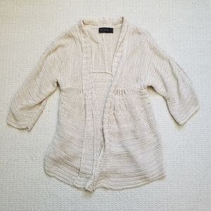 The Limited babydoll knit cardigan size L